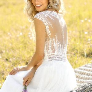 brudekjole blonder