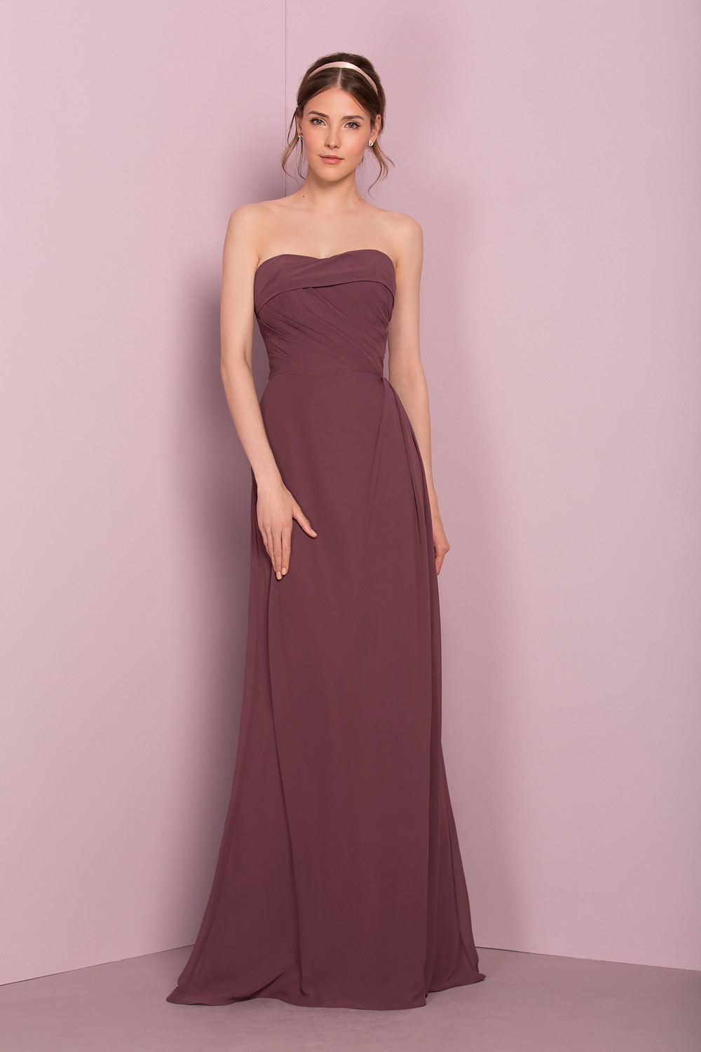 STYLE 18604 : CHIFFON GOWN