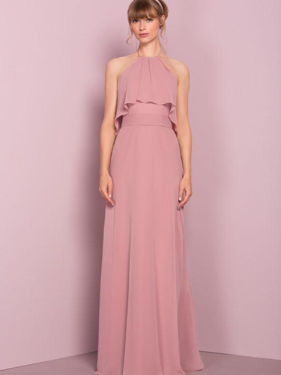 STYLE 18608F : RUFFLED DRESS