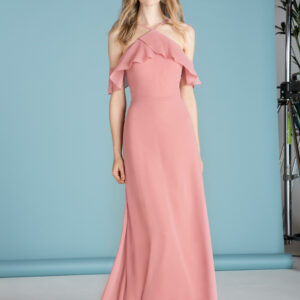 STYLE 18645 : RUFFLED DRESS