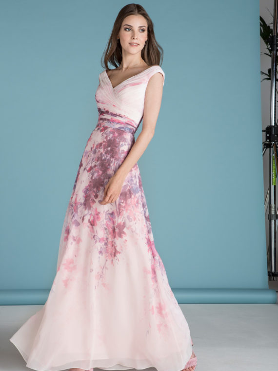 STYLE 18660 : FLORAL GOWN