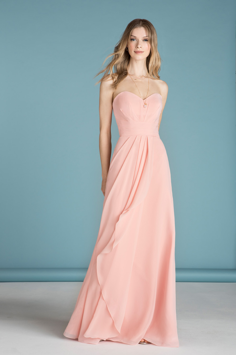 STYLE 18663 : RADIAL PLEATED CHIFFON