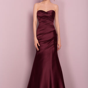 STYLE 18617 : FITTED SATIN
